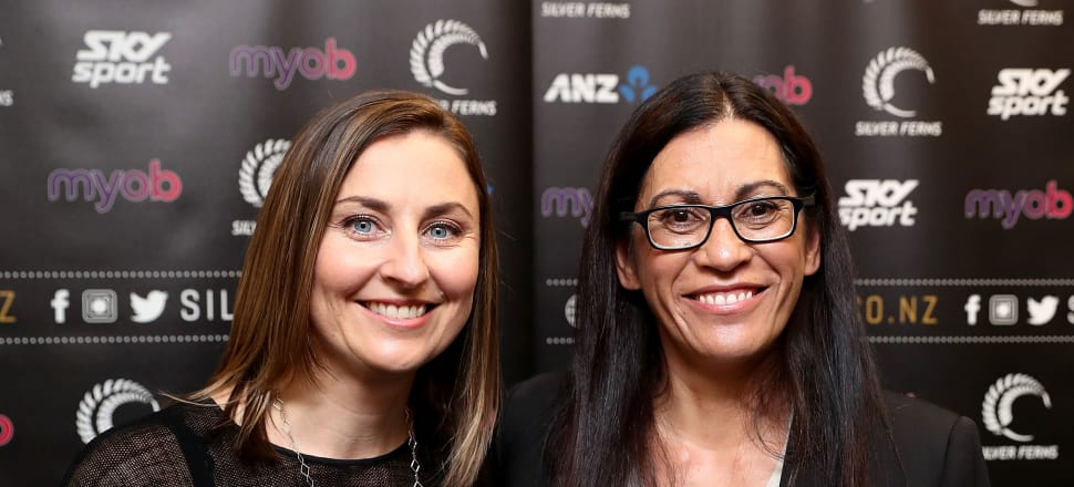 The relationship between Netball NZ CEO Jenny Wyllie and Noeline Taurua continues to grow, as the Silver Ferns coach signs on for another five months at the helm of the world champion side.  Photo: Getty Images.