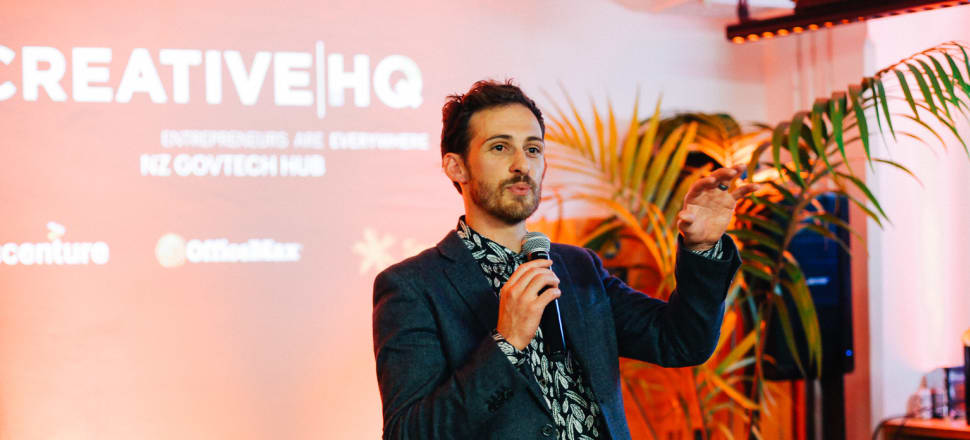 Programme director for Lightning Lab Govtech accelerator programme Jonnie Haddon says the process allows for public agencies to identify a pressing problem, and work quickly to findy a solution and ensure it will achieve the desired outcomes, before spending millions. Photo: Supplied
