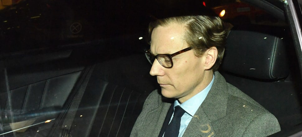 Cambridge Analytica boss Alexander Nix. The Cambridge Analytica scandal revealed data is now the most valuable asset on earth. Photo: Getty Images