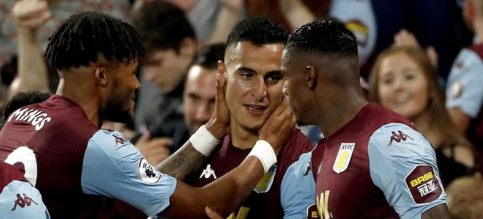 Aston Villa bank first win back in EPL
