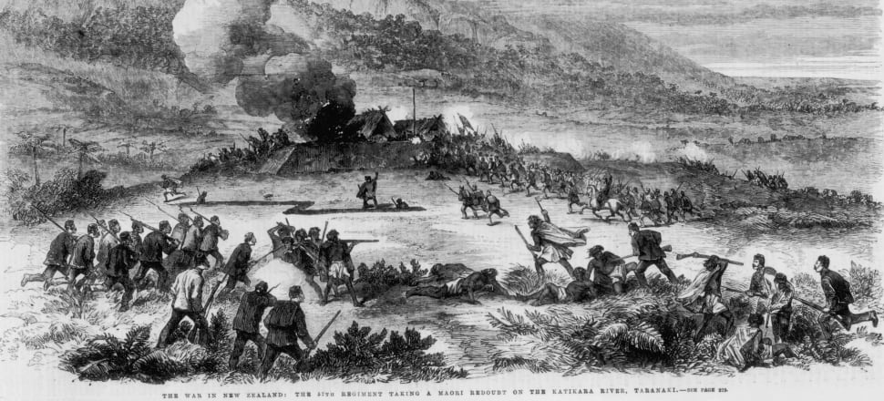 The national curriculum doesn't require schools to teach particular historical topics, like the New Zealand Wars. File photo: Getty Images