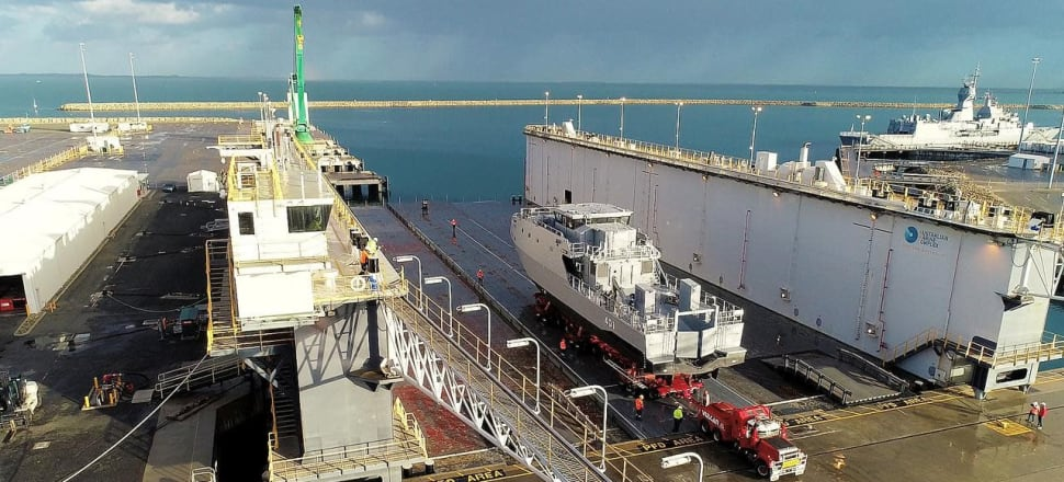 Record year for Austal with profit up 64%