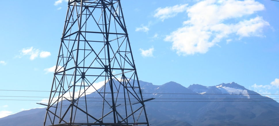 The Government has brought forward over $100 million of transmission line upgrades. Photo: Madeline Grieveson