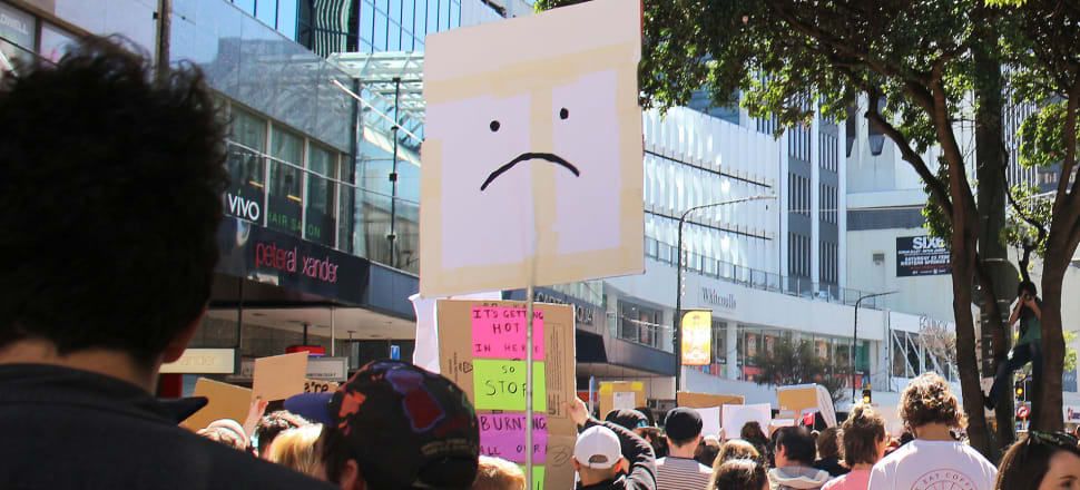 Climate change protesters would be unhappy with the ACC's attitude to ethical investment. Photo: Madeline Grieveson