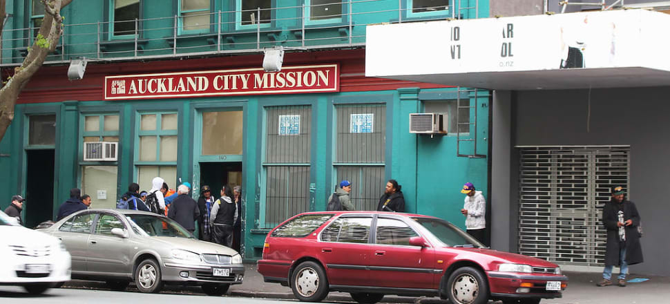More people use the City Mission food bank at Christmas than at any other time of year. Photo: Lynn Grieveson
