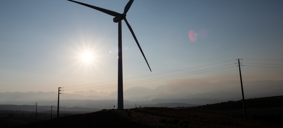 The renewable energy company is selling its largest windfarm in South Australia for $AU1.1 billion worth of shares and debt. Photo: Getty Images
