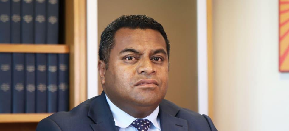 Commerce and Consumer Affairs Minister Kris Faafoi. Photo: Lynn Grieveson.