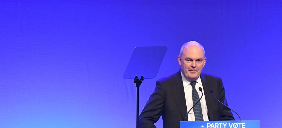 Steven Joyce sued NBR's publisher over tweets about a controversial column on Joyce.  Photo; Getty Images