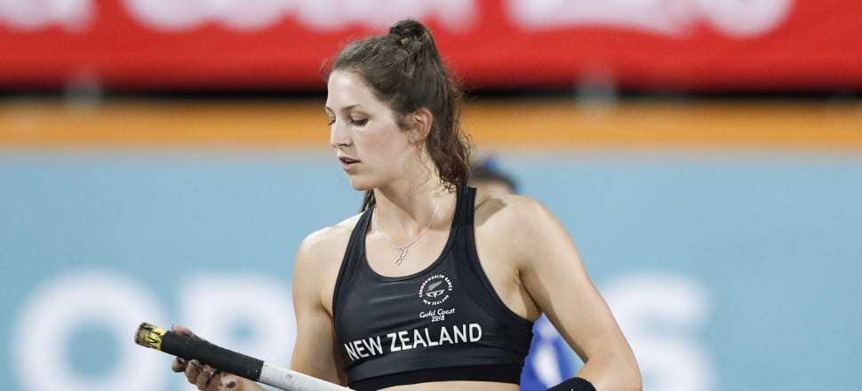 An Olympic bronze and Commonwealth silver medallist in pole vault, Eliza McCartney was studying physiology but has switched majors after becoming fascinated with the environment. Photo: Getty Images.