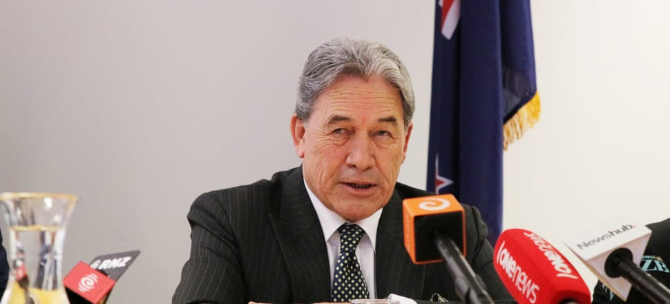 New Zealand First leader Winston Peters. Photo by Lynn Grieveson
