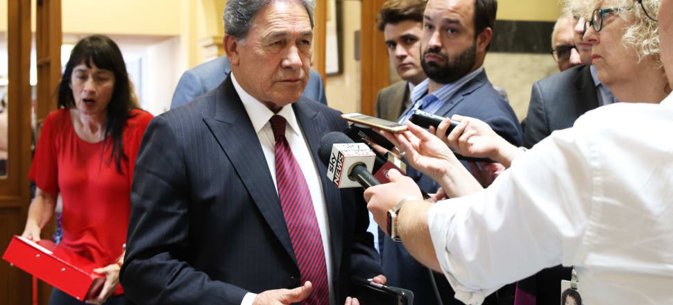 New Zealand First leader Winston Peters has long had a tempestuous relationship with the media, but he has cited the importance of the fourth estate as a reason to back a revived Stuff-NZME merger. File photo: Lynn Grieveson.