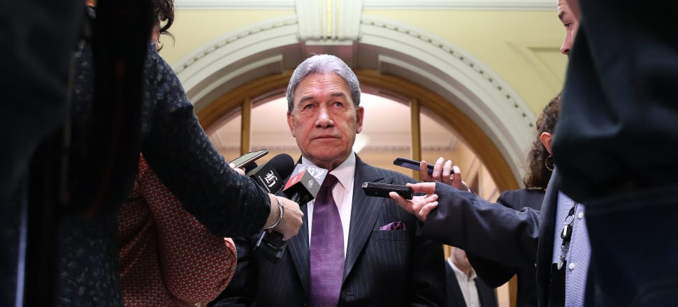 Winston Peters has thrown his weight behind an NZME takeover off Stuff, backed by a Kiwishare. Photo: Lynn Grieveson