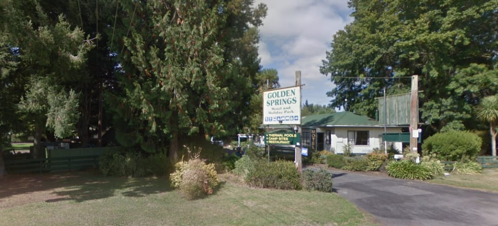 """One online review of the Golden Springs holiday park said the place was a """"shocker"""", with stained mattress covers, rat faeces and """"in desperate need of repairs"""". Photo: Google Streetview"""