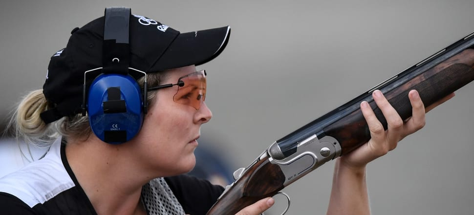 Natalie Rooney had some serious soul-searching to do after changing her shooting style following her silver medal at the 2016 Rio Olympic Games. Photo: Getty Images.