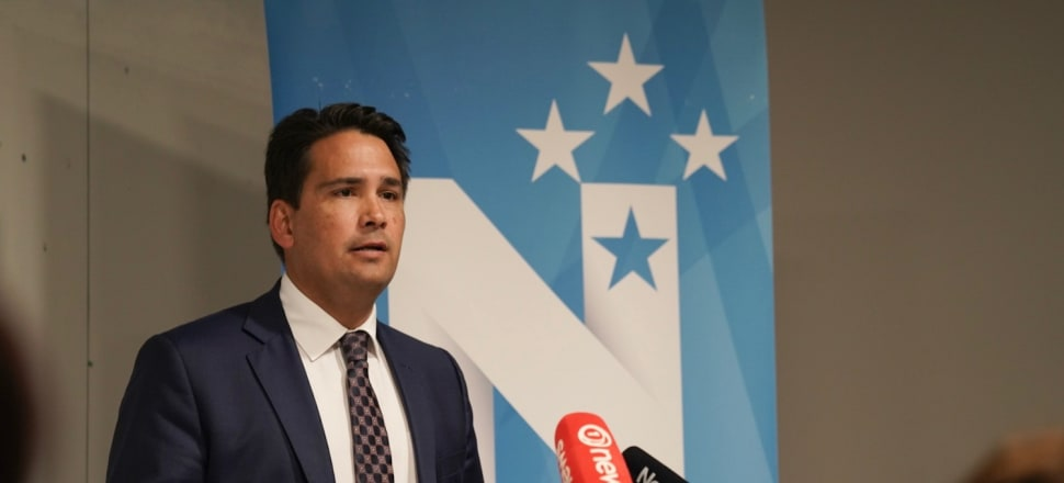 National Leader Simon Bridges is promising his party will be the 'party of infrastructure'. Photo: Supplied.