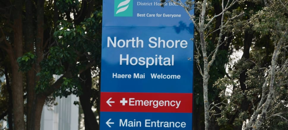 Fifty-eight patients caught the flu in North Shore Hospital this year. Photo: John Sefton