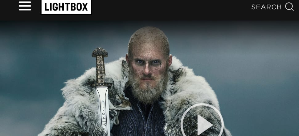 Lightbox was launched by Spark in 2014 and has bought a series of shows to New Zealand viewers, including Hulu's The Handmaid's Tale and the History Channel's Vikings.