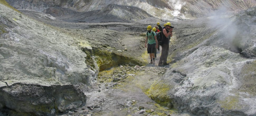 Did the tourists caught up in the Whakaari-White Island eruption in the events know the risks they faced? Photo: Sheryl Sefton