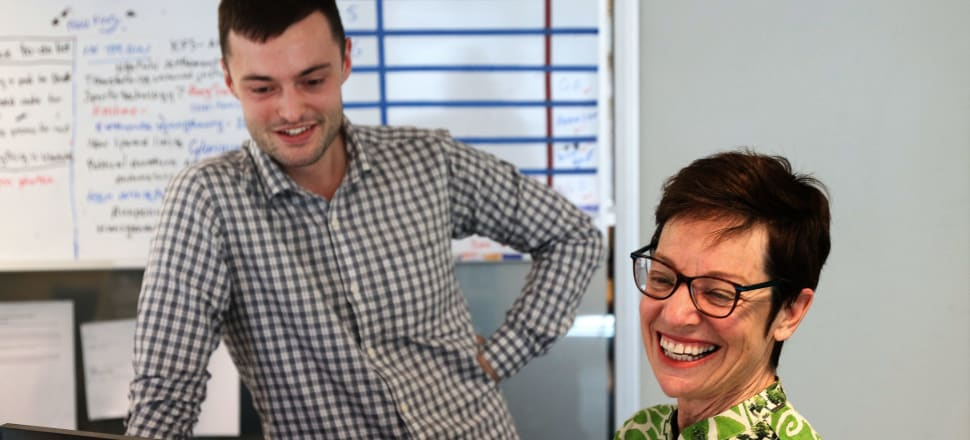 Sharon Brettkelly and Alex Ashton have been The Detail's presenters this year. Photo: RNZ