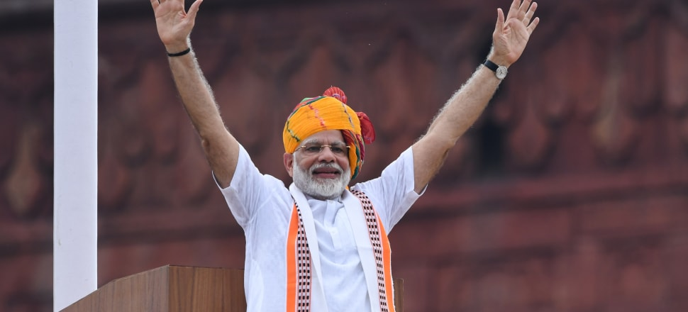 Narendra Modi's government has pushed through a bill that fast-tracks citizenship for people fleeing persecution in Pakistan, Afghanistan, and Bangladesh – provided they are not Muslim. Photo: Getty Images