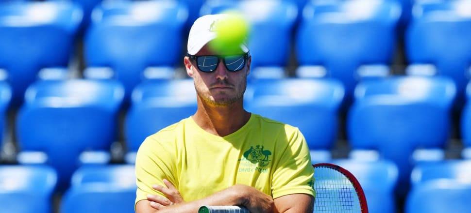 Hewitt against radical Davis Cup finals