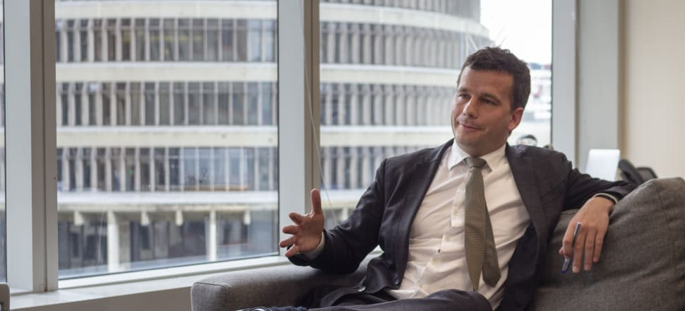 David Seymour, has been demonised in the public eye for advocating for lower taxes, reduced state spending and deregulation. Photo: Linus Nelson