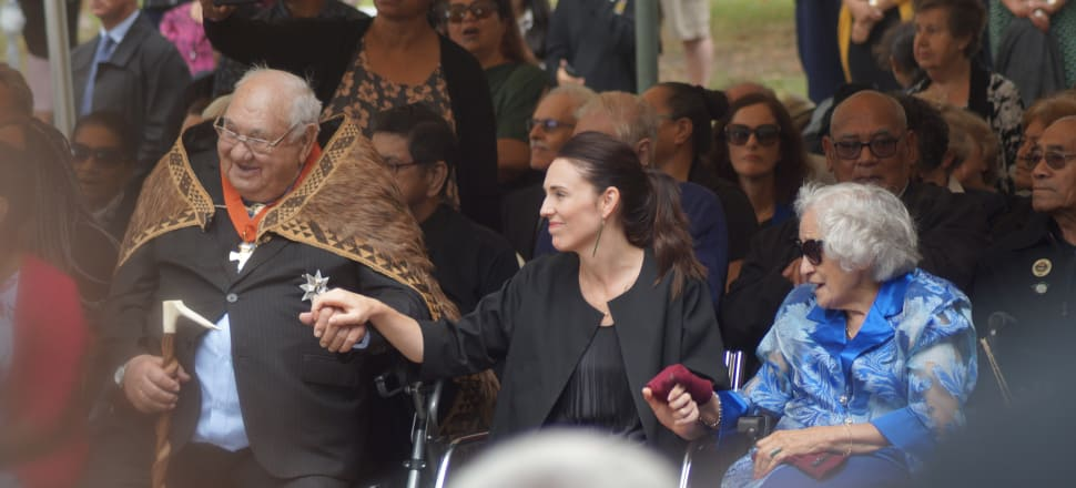 Jacinda Ardern faced some big questions at Waitangi, and there are no easy answers for her government as they try to address decades-old issues. Photo: Sam Sachdeva