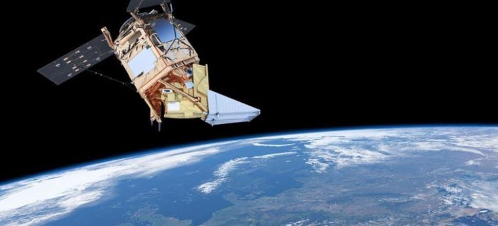 Sentinel-5P satellite. Photo: Supplied/European Space Agency