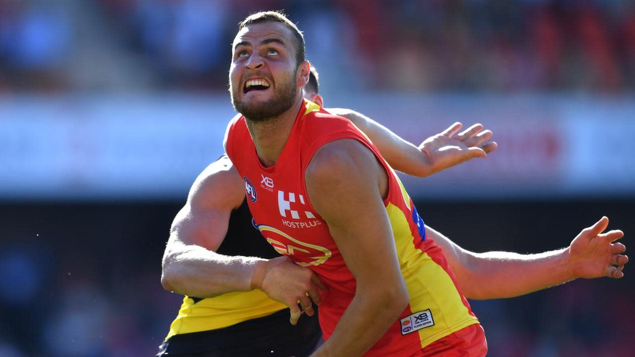 Jarrod Witts Signs Five Year Suns Afl Deal