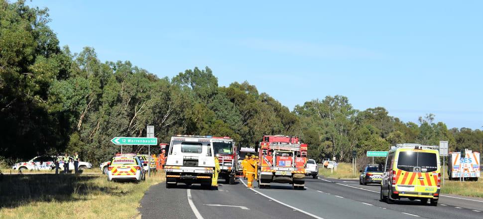 Serious crash on Hume Fwy Baddaginnie