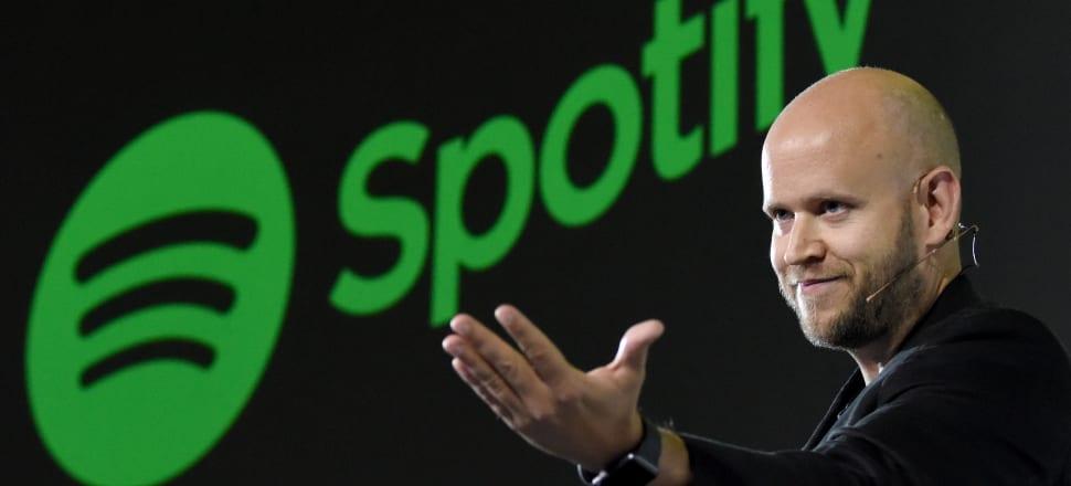 Daniel Ek, CEO of Spotify. Photo: Getty Images