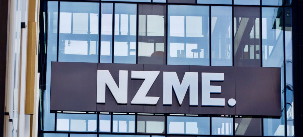 NZME Herald building in Auckland. Photo: John Sefton