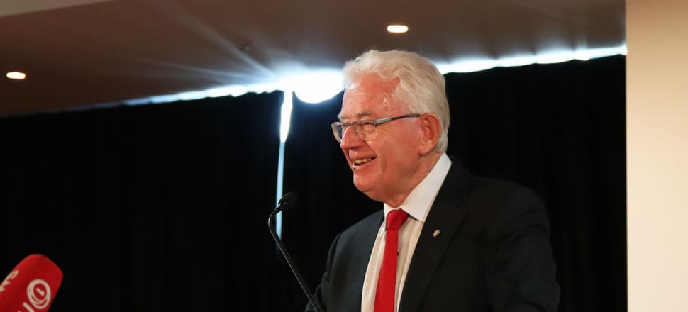 Sir Michael Cullen, chair of the Tax Working Group. Photo: Lynn Grieveson