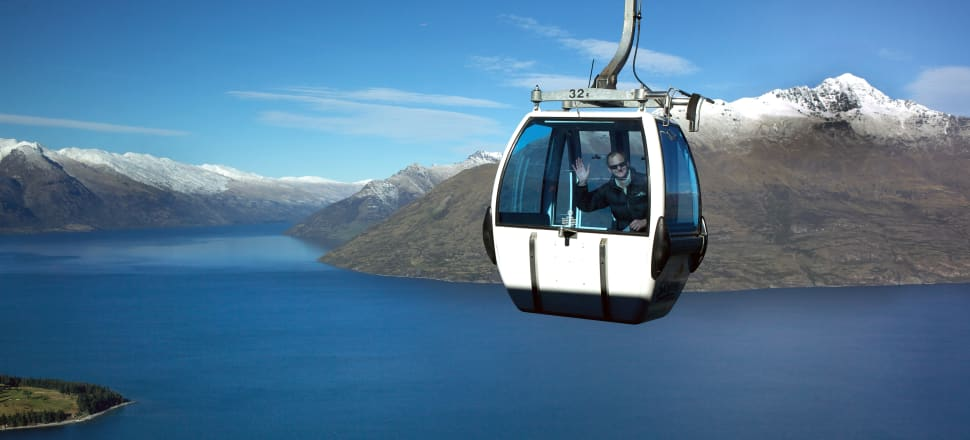 """Skyline Queenstown is finalising detail on a project to upgrade the tourism mecca's iconic gondola service in a project that will require """"north of $100 million"""" of new investment. Photo: Getty Images"""
