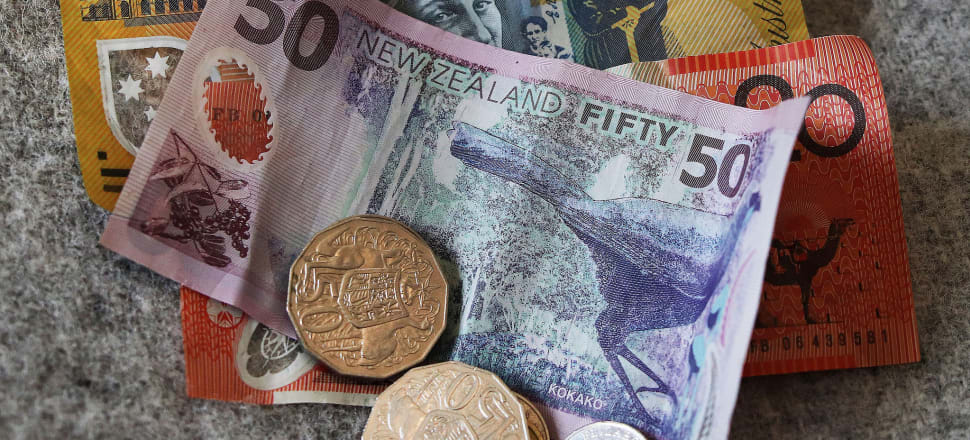 The kiwi was trading at 67.74 US cents at 5 pm, from 68.02 at 7.45am. Photo: Lynn Grieveson.