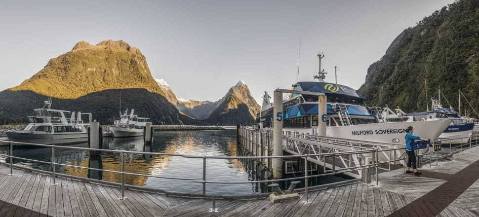 Milford Sound's existing facilities weren't built to cope with the recent surge in tourism. Photo: Getty Images