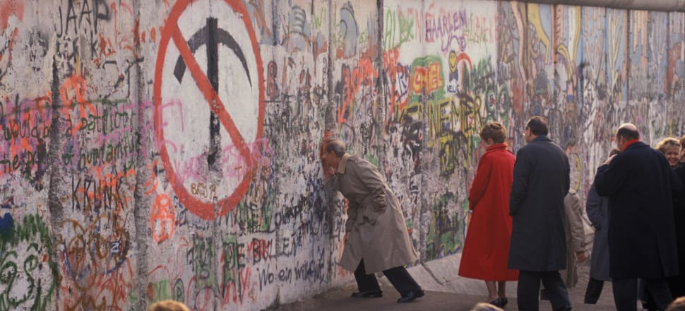The Berlin Wall, December 1989; Photo: Getty Images