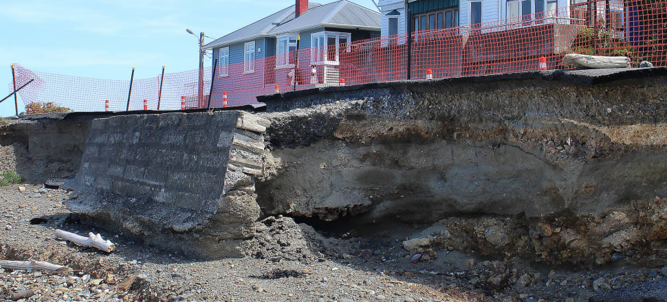 Coastal erosion - one of the big issues planners are dealing with. Photo: Lynn Grieveson