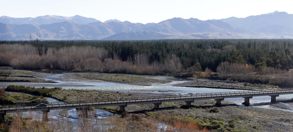 The issue of minimum flows on North Canterbury's Hurunui River, and a possible review of water-take consents, remains unresolved. Photo: Richard Cosgrove
