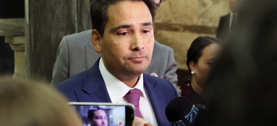 Simon Bridges manages to sustain high party ratings while plummeting in personal popularity. Photo: Lynn Grieveson