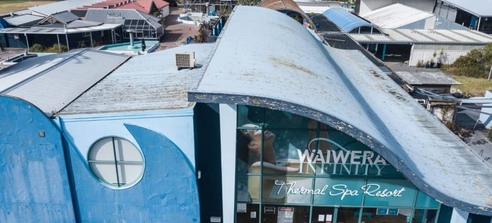 The Waiwera Thermal Resort went into liquidation in February this year. Photo: Chris Skelton/Stuff