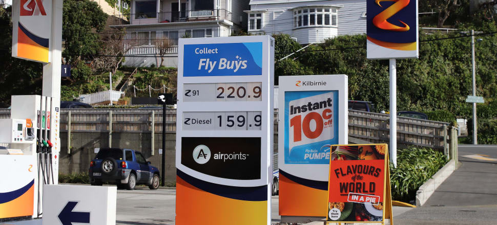 Fuel prices rose 5.8 percent in the three months to June.Photo; Lynn Grieveson.