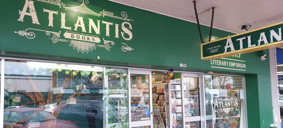 Atlantis Books owner Fraser Newman says Bay of Plenty is a ripe area for finding rare and collectible books as well as out-of-print New Zealand non-fiction. Photo: Supplied