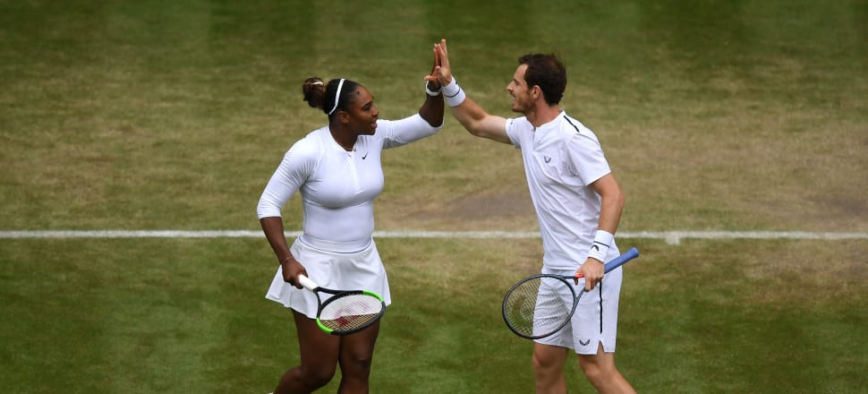 Men and women on the same playing field - like mixed doubles in tennis - will be more prevalent at next year's Olympic Games. But what about including trans and non-binary athletes? Photo: Getty Images.