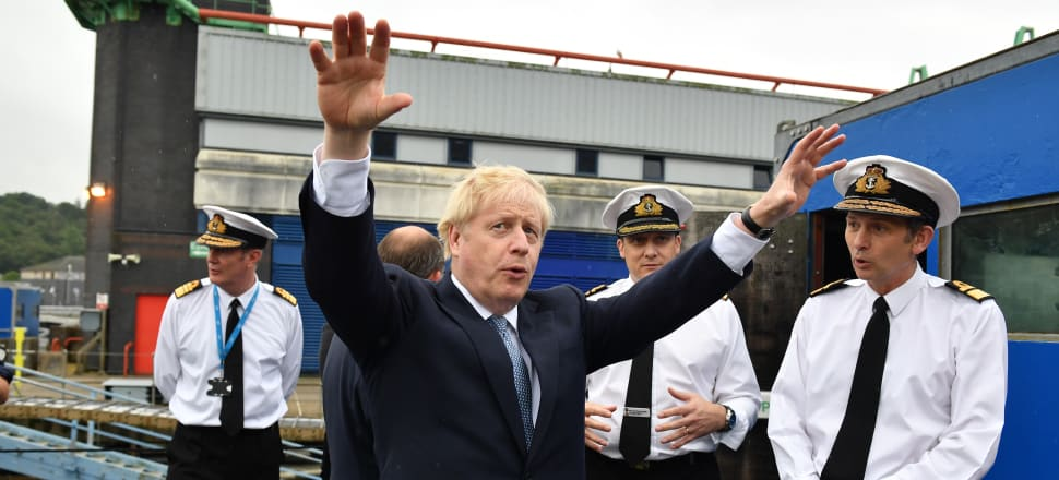 Britain's new Prime Minister Boris Johnson is facing a situation with wide-reaching ramifications. Photo: Getty Images