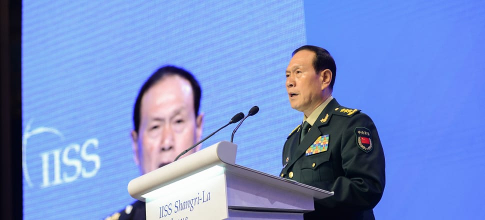 Chinese Defence Minister Wei Fenghe delivered a Shangri-La Dialogue address that was fierier in tone than many had anticipated. Photo: Supplied/IISS.