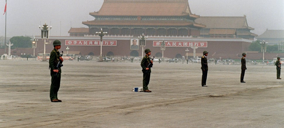 The Tiananmen massacre is like an open sore on the Chinese body politic. Photo: Getty Images
