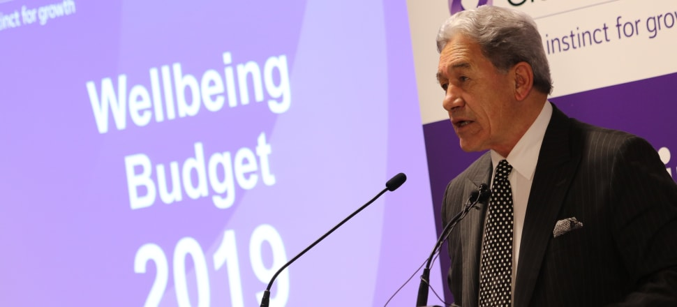 Winston Peters is picking the Government coalition will win the next election. Photo: David Williams