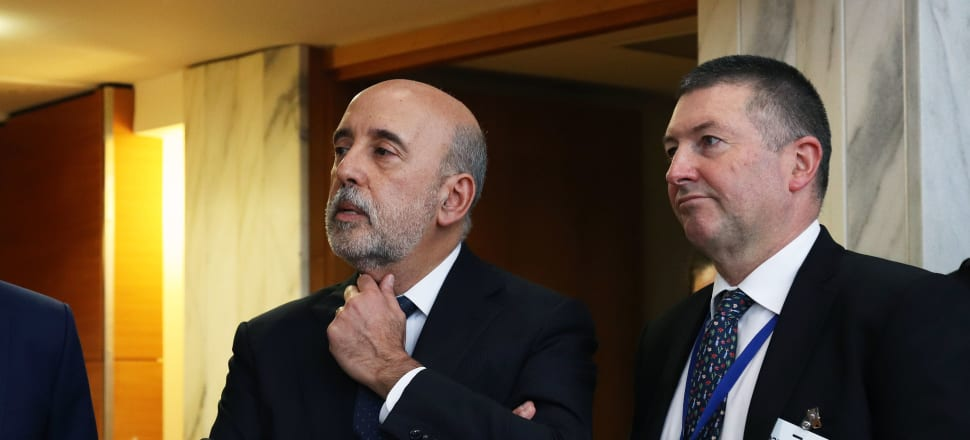 Budget Day was bad enough for Treasury Secretary Gabriel Makhlouf (left). Now he faces an investigation by the State Services Commission. Photo: Lynn Grieveson