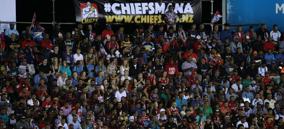Fijians have fully embraced the Chiefs, who have played a match in the country for the last four years. Photo: Getty Images